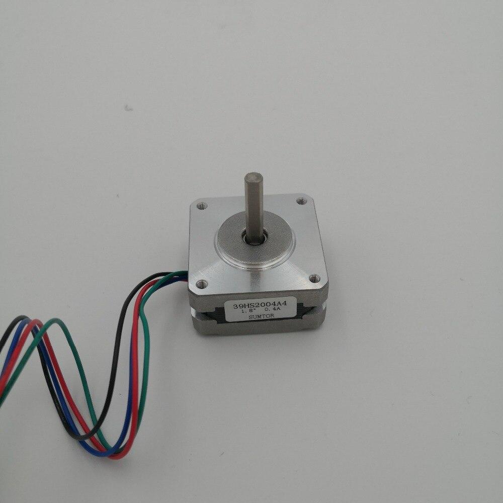1.8 graus nema 16 motor deslizante com 8 n. Cm 11oz-in frame 39 mm cnc motor deslizante nema16 4-comprimento de chumbo 20 mm ce rohs