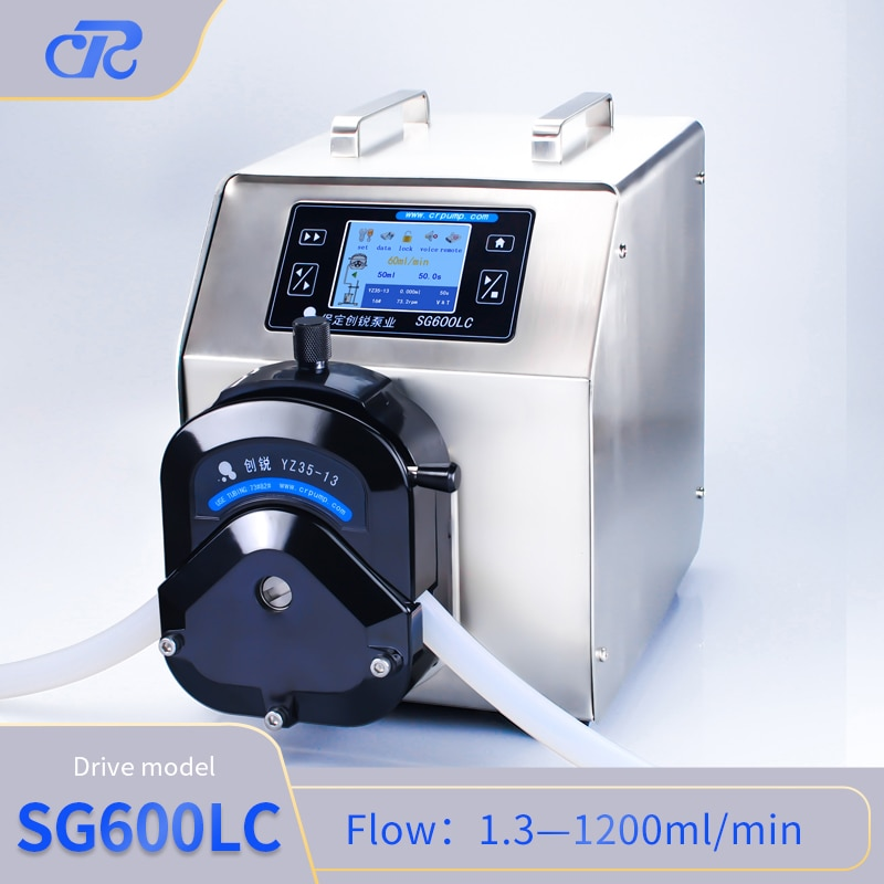 Chuangrui Multifunctional Touch Screen Peristaltic Pump enlarge