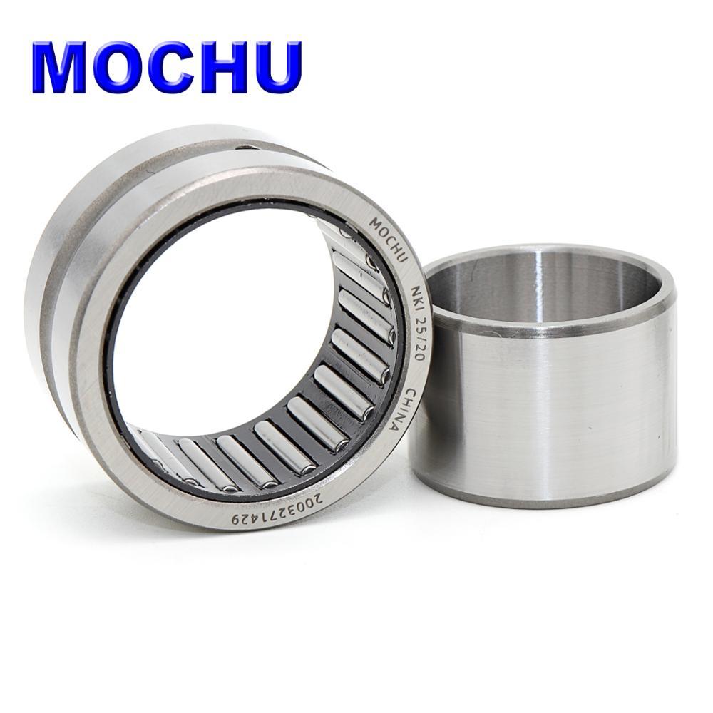 1 rolamentos de rolo da agulha de 25x38x20 nki2520 mochu dos pces nki25/20 nki 25/20 com anéis feitos à máquina com um anel interno