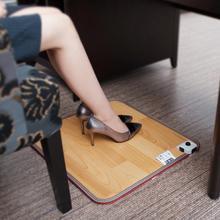 Zima 2 rozmiary skórzane ogrzewanie stóp mata cieplej elektryczne podgrzewane podkładki stóp ocieplacz na nogi termostat biuro w domu ocieplenie dostaw