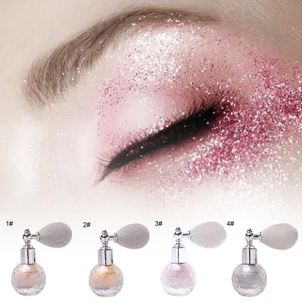 Poudre de paillettes de maquillage Spray poudre brillante en vrac visage fard à paupières poudre de corps scintillant poudre éclaircissante pour le corps du visage