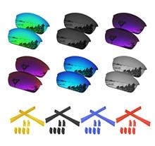 SmartVLT Polarized Replacement Lenses for Oakley Flak Jacket Sunglasses - Multiple Options