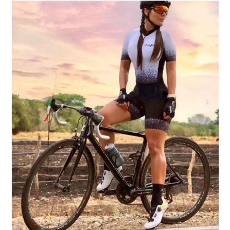 Kafitt-traje profesional de triatlón para mujer, Ropa de Ciclismo, mono, Kits de...