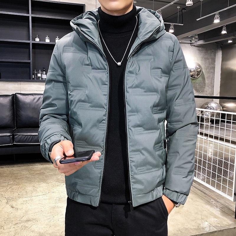 Модный брендовый пуховик, новая зимняя куртка, мужское плотное теплое пальто, куртка, флисовая Мужская куртка, Мужская одежда