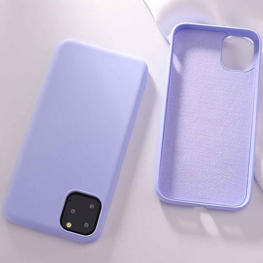 Silicone Phone Case for iPhone SE2 SE 2020 SE 2 11 Pro Max 7 8 6 6S Plus Luxury Funda For iPhone Xr X Xs Shockproof Capa No Logo