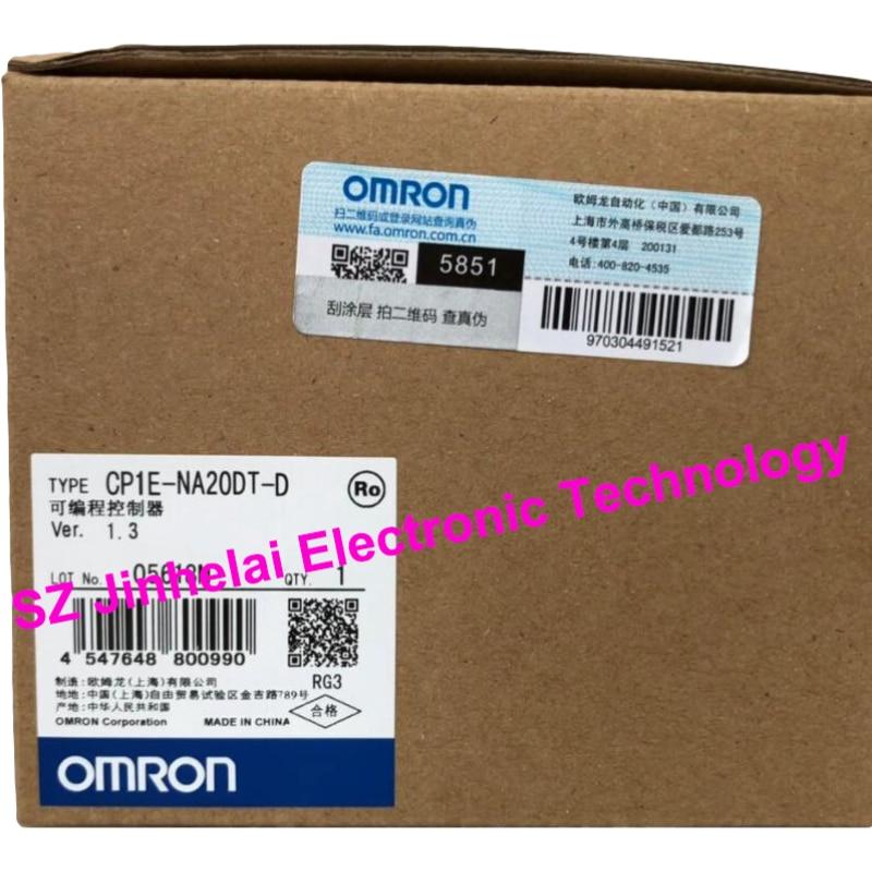 جديد وأصلي CP1E-NA20DT-D اومرون للبرمجة تحكم PLC
