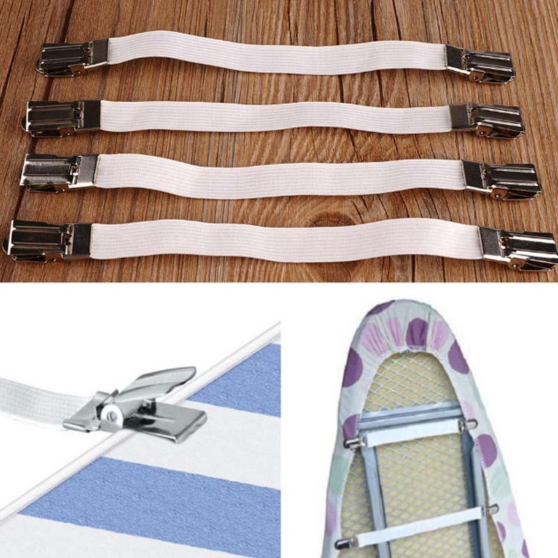 4 Uds útil cama multipropósito sujetadores de hoja colchón elástico soporte Clip herramienta de pinzas sábana OCT998