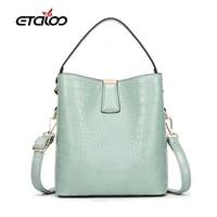 2020 new bucket shoulder bag women drawstring high quality crossbody bag female messenger bags ladies synthetic leather handbag