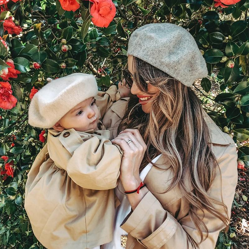 Женский берет модная футболка в французском художника шерстяная Осенняя шапка зимняя однотонная Цвет женские теплые ботинки для кепки