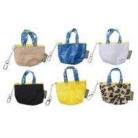 hot sale women fashion coin purse mini wallet money pouch keyring card holder small zip bag portable blue color zipper pouch bag