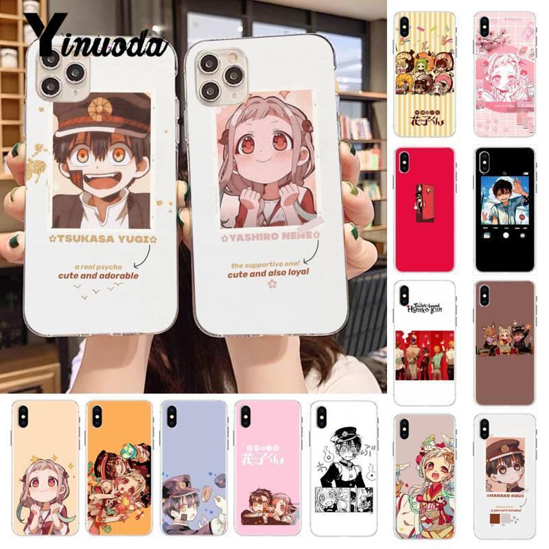 Yinuoda Jibaku Shounen Hanako Kun Toilet bound Hanako Kun Phone Case for iPhone 11 pro XS MAX 8 7 6 6S Plus X 5S SE 2020 XR case