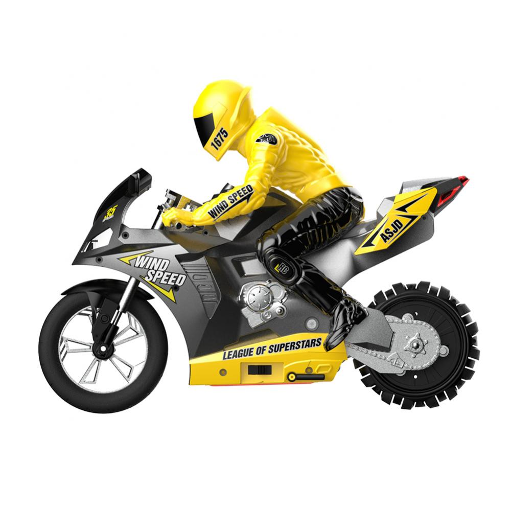 1/6 2.4G 6 A-xis RC Stunt Drifting Motorcycle Motorbike LED Sound Model Kids Toy enlarge