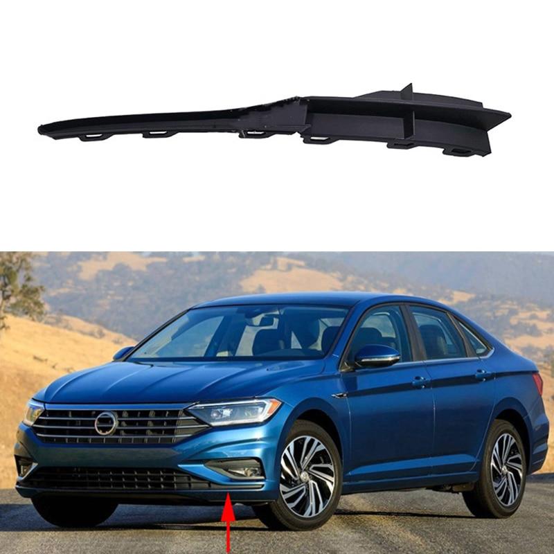 Embellecedor de parachoques de tira de cubierta frontal derecho e Izquierda para coche, para Jetta MK7 2019 2020 17A854321 17A854322, versión de ee.uu.