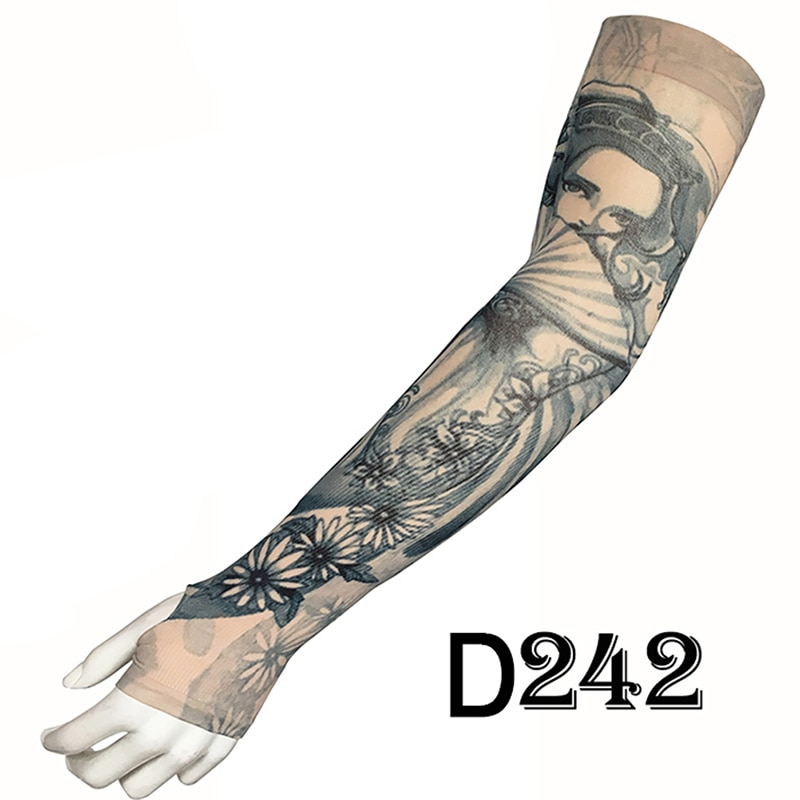 fashion tattoo sleeves sunscreen arm warmer unisex uv protection outdoor temporary fake tattoo arm sleeve warmer sleeve mangas Fashion Tattoo Sleeves Arm Warmer Outdoor Temporary Fake Tattoo Warmer Sleeve Mangas Unisex UV Protection Arm Sleeve