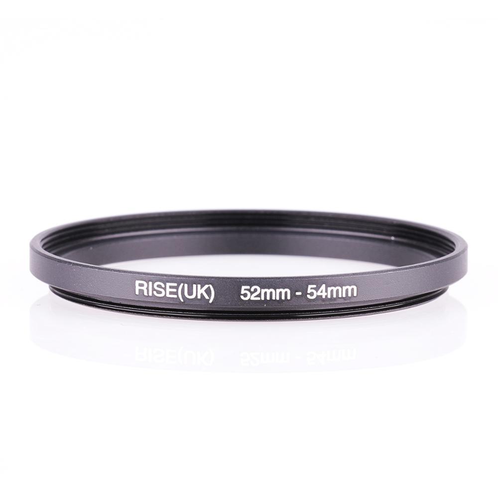 Aumento (Reino Unido) 52mm-54mm 52-54mm 52 a 54 filtro paso de anillo adaptador