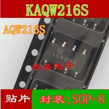 10pcs AQW216S    KAQW216S SOP-8