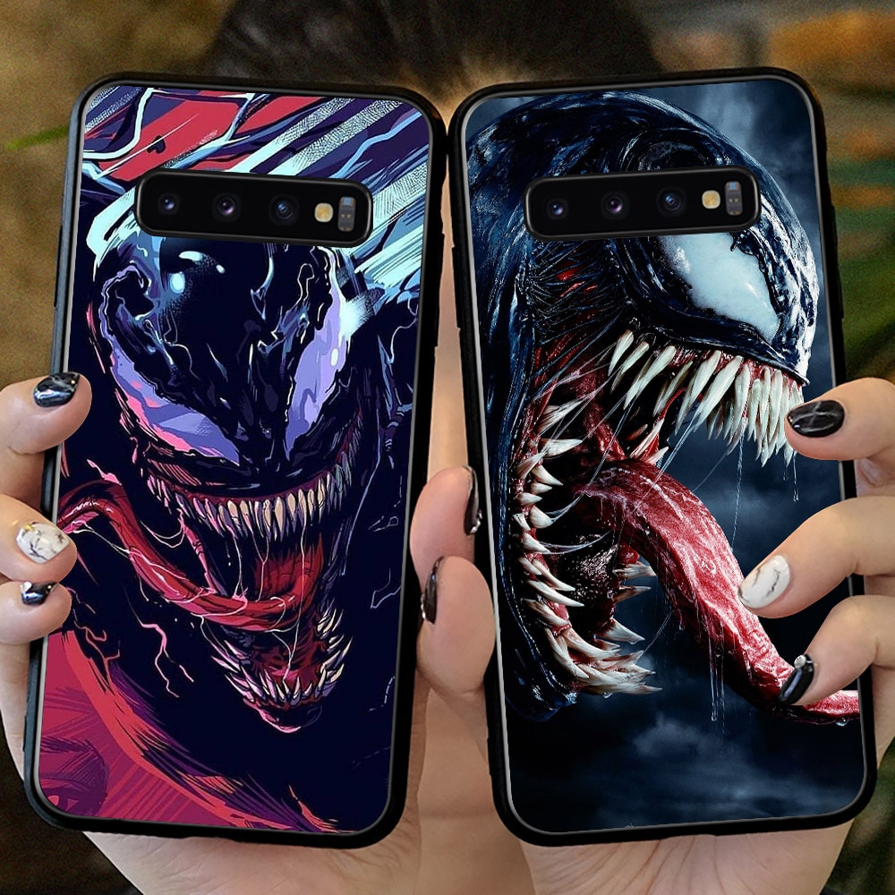 Venom para Samsung Galaxy S10 Plus S10 S8 S9 Plus S7 edge S10 e lite S20 Plus, funda para Galaxy Note 10 Plus 8 9 10, funda para S20