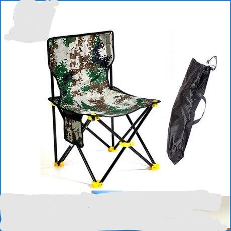 Silla de playa plegable para acampar, muebles de exterior, portátil, para pesca,...