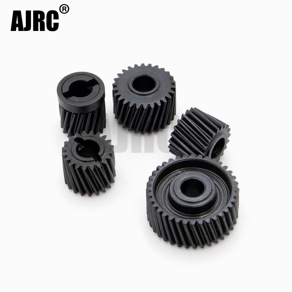 Applicable to Axial SCX10 90046/90047 Gearbox Upgraded Steel 48P SCX10-ll Transmission Helical Gear