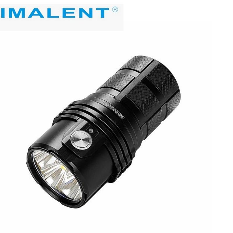 IMALENT MS06 25000 lumens flashlight CREE XHP70 2nd LEDs three rechargeable 4000mAh 21700 Li-ion batteries enlarge