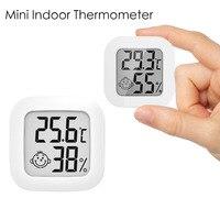 Цифровой мини-термометр с ЖК-дисплеем, комнатный гигрометр с датчиком влажности, инструменты для измерения температуры