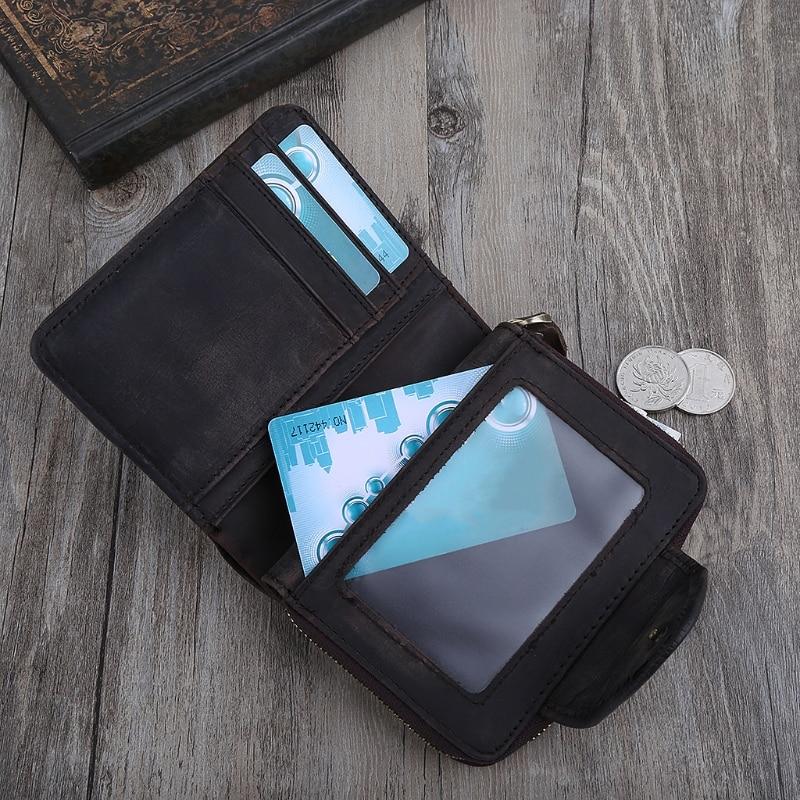 1PC Men Fashion Leather Wallet Coin Purse Credit Card Holder Clutch Pocket Billfold