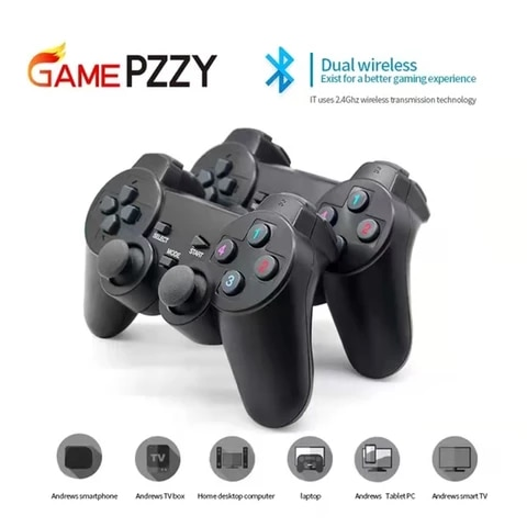 Players 2.4G Wireless Game Gamepad Controller For Android TV gameBox For PC Joysticks Suitable for game console 4 player game