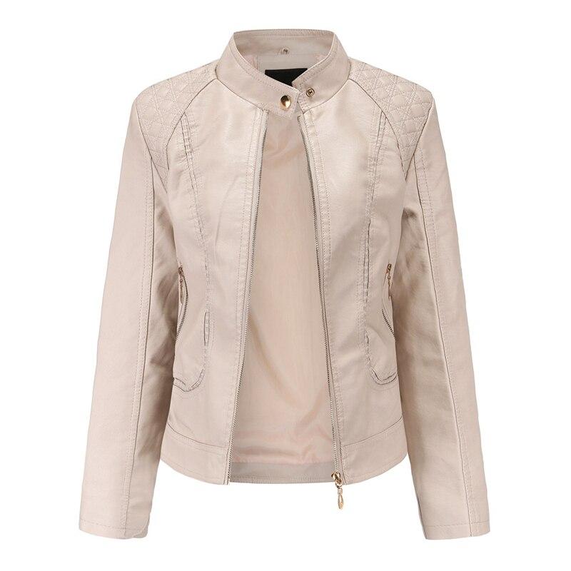Куртка SWYIVY женская из искусственной кожи, уличная одежда, повседневная короткая верхняя одежда на молнии из искусственной кожи одежда из кожи stuart hughes 2169
