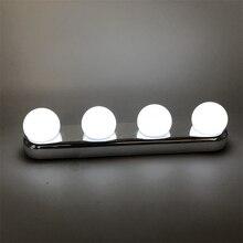 4/10 pièces/ensemble miroir applique pour coiffeuse 10 ampoules 2W Kit Led vanité lumières maquillage ampoules