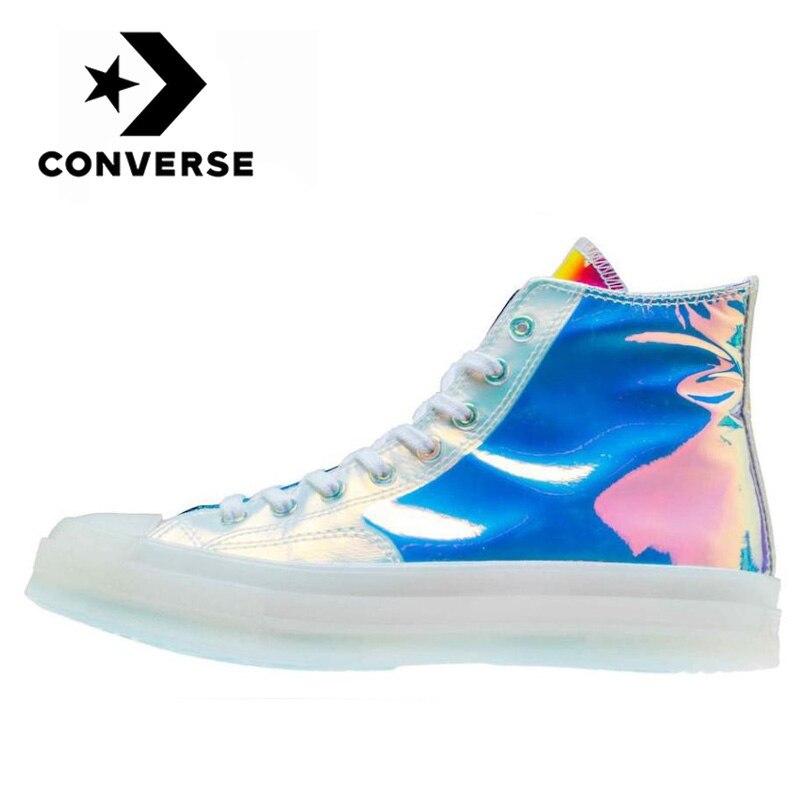 Original Converse Chuck Taylor All Star 1970s Hi hombres y mujeres Unisex alta Skateboarding zapatillas duraderas ocio zapatos de lona