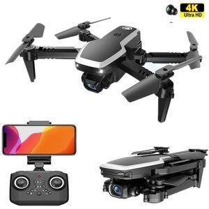 Новый Дрон 4K широкоугольная камера WiFi FPV двойная камера RC Квадрокоптер высота держать видео RC Дрон селфи Вертолет подарок