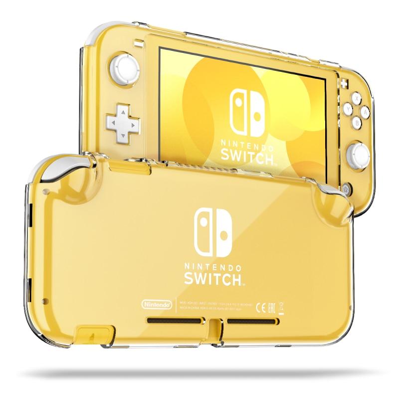 Funda transparente dura para Nintendo Switch Lite funda protectora 360 PC de protección completa funda transparente para Nintendo Switch Lite