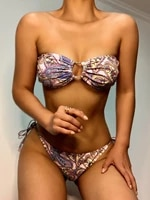 european and american beach holiday print bodysuit sanya diving bikini bikini