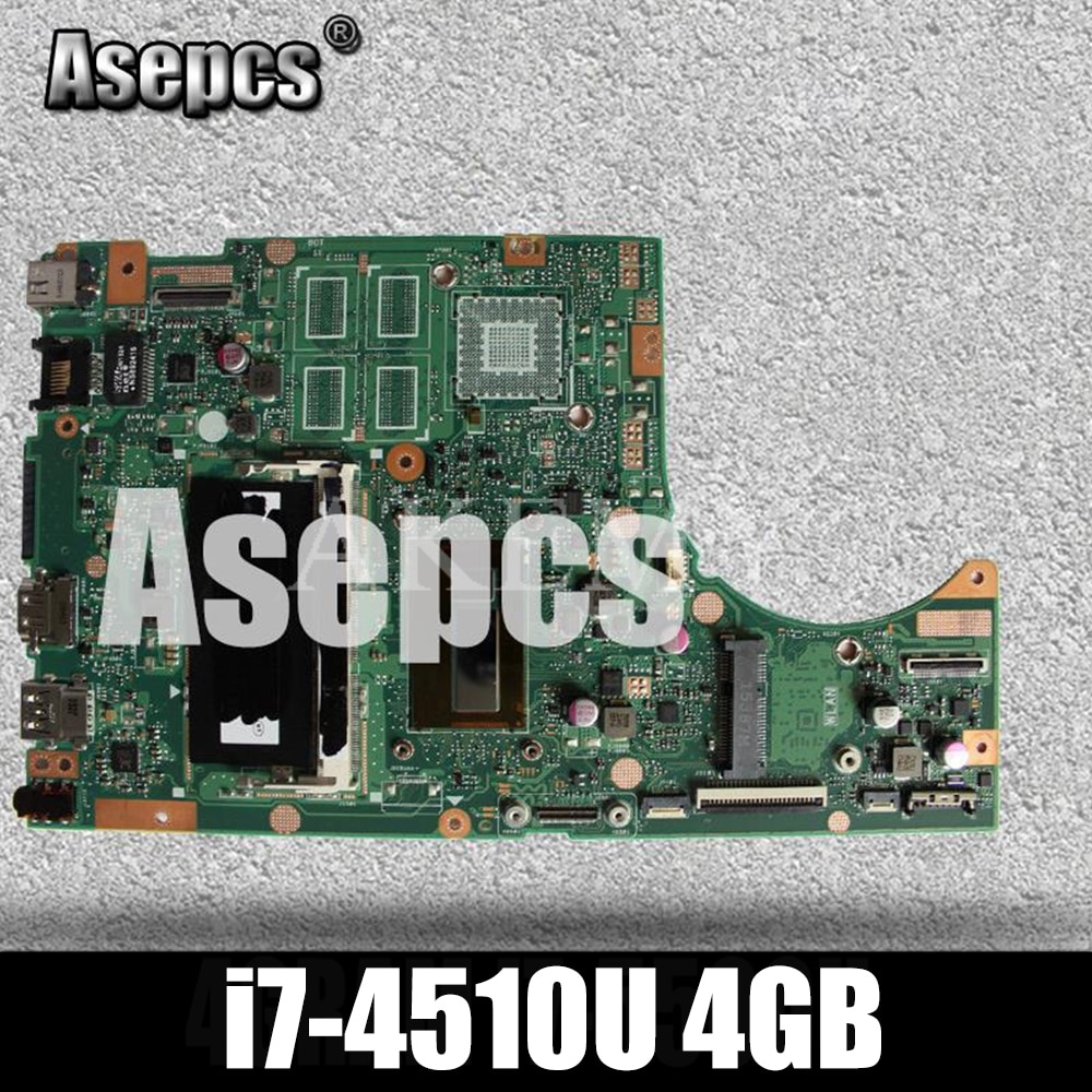 Placa base de ordenador portátil Asepcs TP500LA/TP500LN para ASUS TP500LA TP500LN TP500LD TP500L TP500, placa base original de prueba, 4 gramos I7-4510U