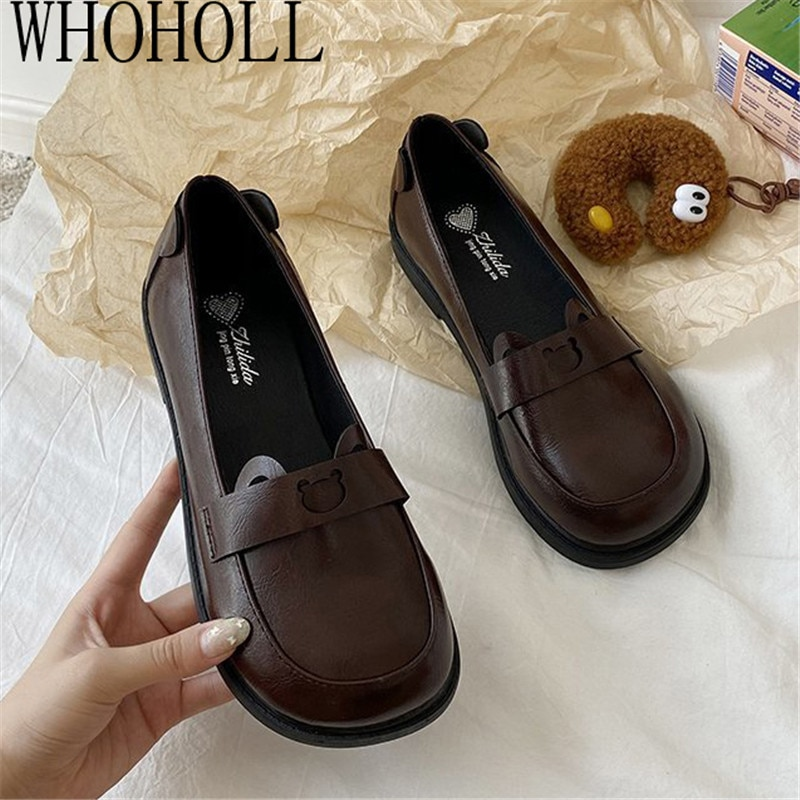Women Shoes Japanese Style Lolita Shoes Women Vintage Soft High Heel Platform Shoes College Student Mary Jane Shoes japanese sweet lolita cosplay t strap bowtie mary jane shoes princess girl square heel latin dance shoes