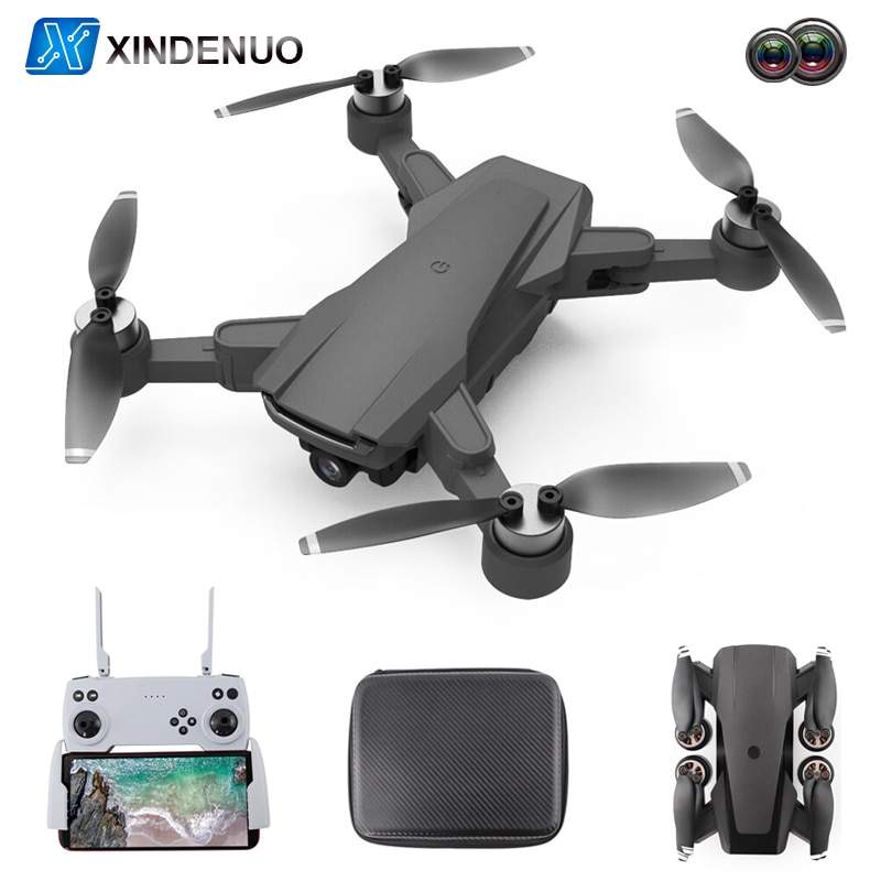 X66 RC Drone 6K GPS Profissional With 5G WiFi Wide Angle HD Dual Camera FPV Brushless Motor Quadcopt