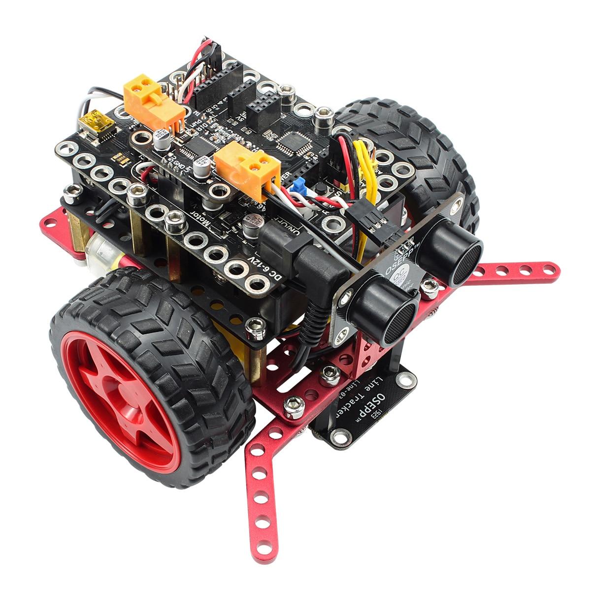 روبوبرو روبوتية أساسيات عدة لاردوينو خط تعقب تجنب عقبة السومو سحب قطرة البرمجة التعليمية الجذعية