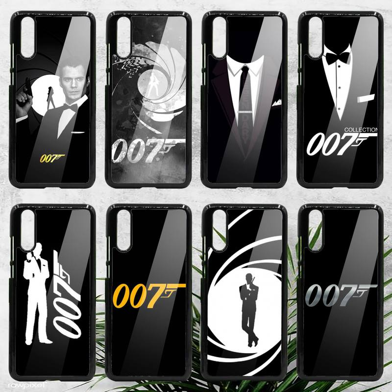 James bond 007 Britain movie Phone Case PC For Samsung galaxy S note 8 9 20 10 e lite2019 plus pro ultra