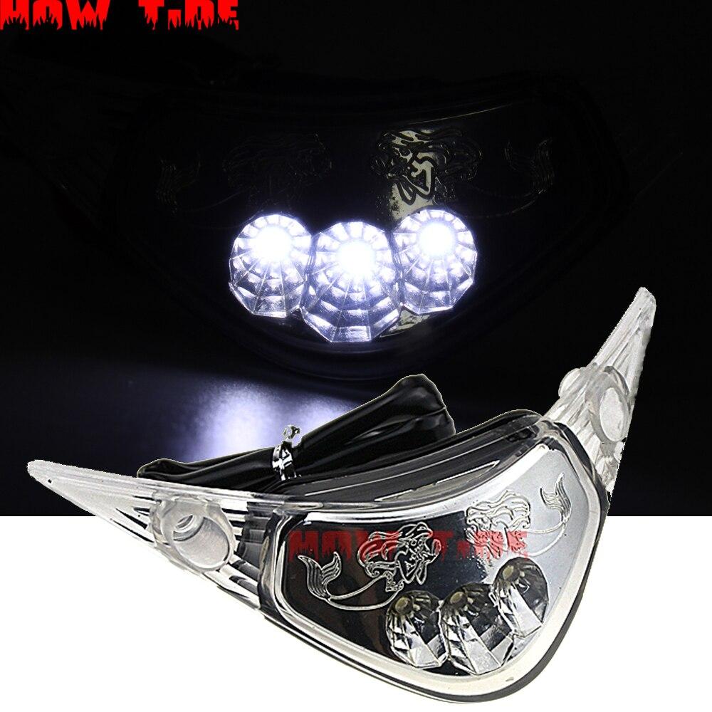 Für HONDA F5 CBR 1000 RR CBR1000RR 2004 2005 2006 2007 Scheinwerfer Scheinwerfer Nebel Lampe Front Kopf Licht LEDFront Zentrum licht