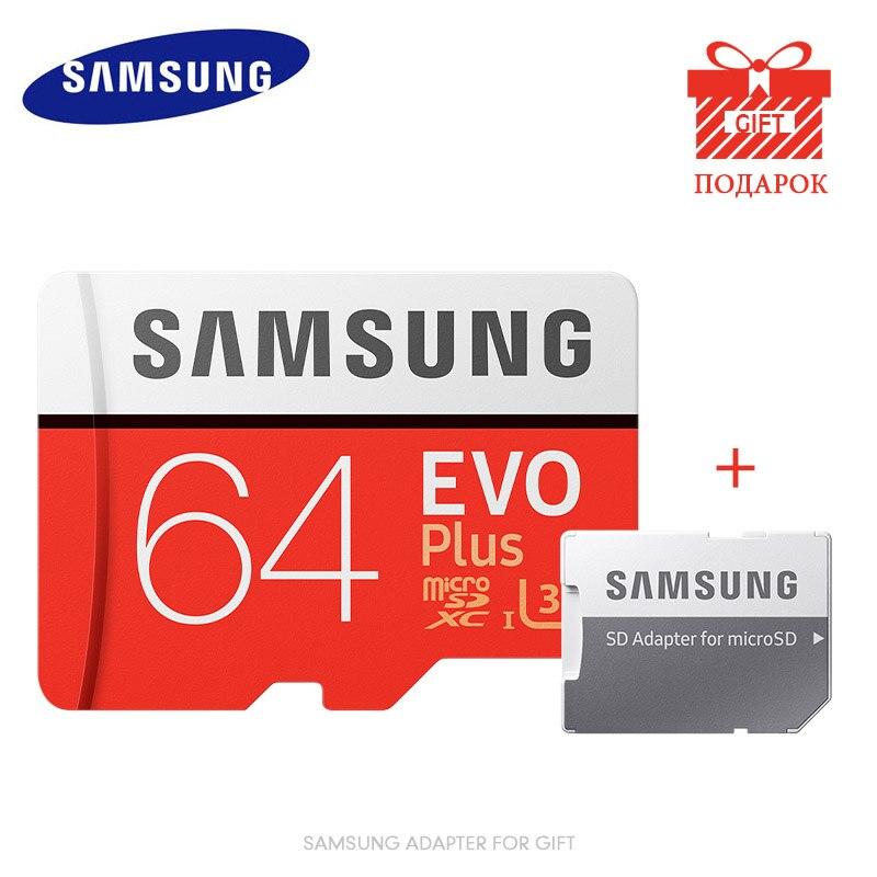 Tarjeta de memoria 128 Original SAMSUNG EVO Plus, 8GB/32GB/SDHC 64GB/256GB/100% GB/SDXC, tarjeta Micro SD TF, tarjetas UHS-1 SD Class10 y Microsd C10