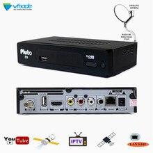Vmade 2019 S2 Pluto S9 HD Digitalen Satelliten-receiver DVB-S2 TV Tuner Rezeptor MPEG-2/4 H.264 Unterstützung Youtube Bisskey IPTV Cccam