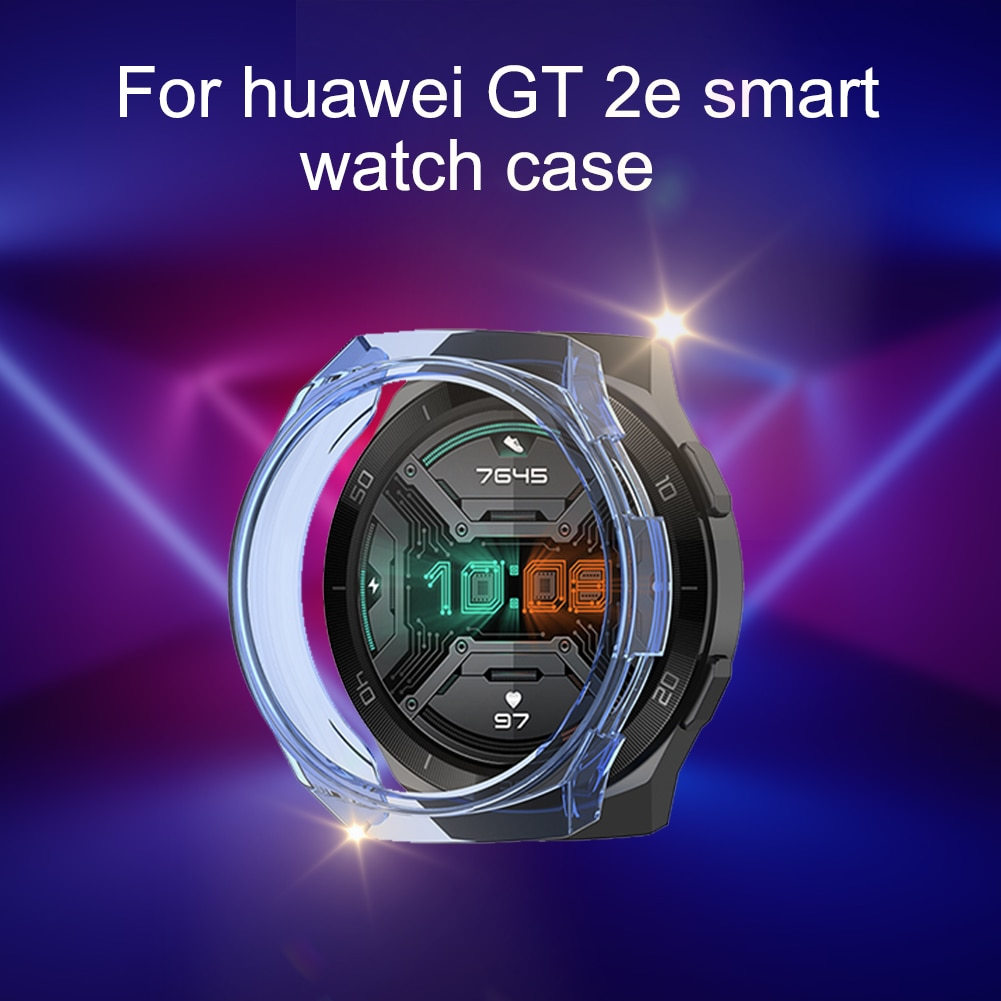 TPU Slim Smart Watch Protective Case Cover For HUAWEI Watch GT 2e Protective Case Intelligent Wearable Accessories