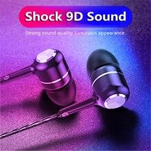 3.5mm Wired Earphone In Ear EarBuds Mobile Phone Deep Bass Dynamic Headset For Xiaomi Huawei Earphones Fone De Ouvido TXTB1