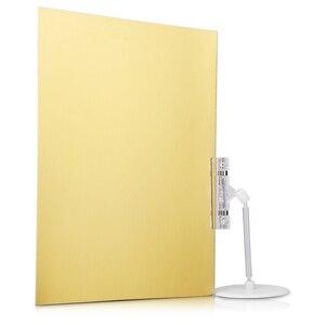 Фотография A4 фон картонная бумага золотой серебряный черный отражатель фон картонная Фотография реквизит
