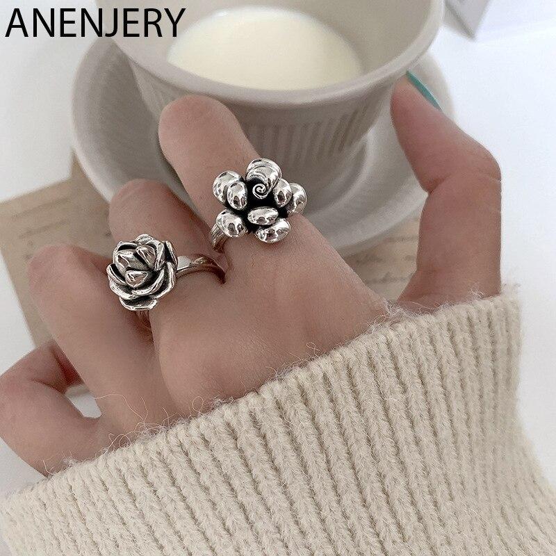 Женское-кольцо-в-виде-розы-серебро-925-пробы