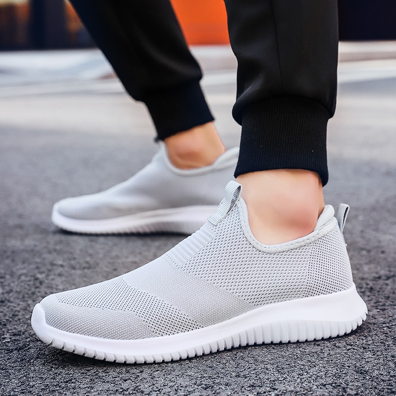 Mens Sneakers Big Size 48 Shoes Lightweight Breathable Large Man Mesh Casual Shoes Couple Women Foot
