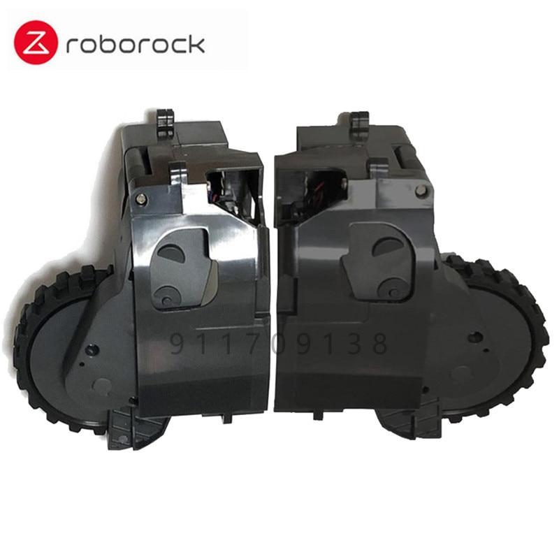 مناسبة ل شاومي روبوروك كنس روبوت الأصلي اكسسوارات السلطة عجلة روبوروك S50 s51 S55 المشي وحدة اليسار واليمين
