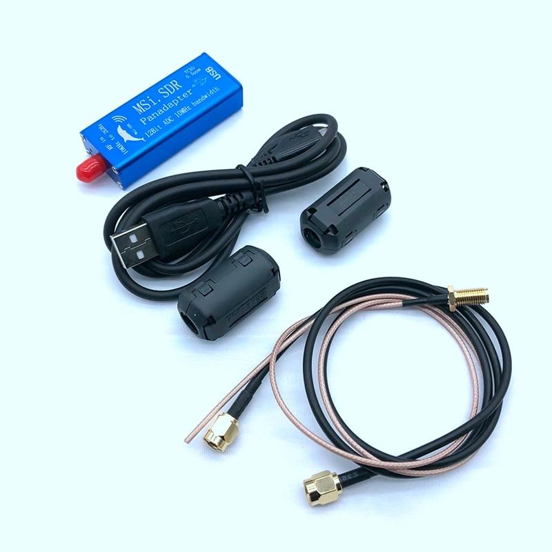 Jabs msi. sdr 10khz a 2ghz panadapter sdr receptor de 12 bits adc pente compatível sdrplay rsp1 tcxo 0.5ppm