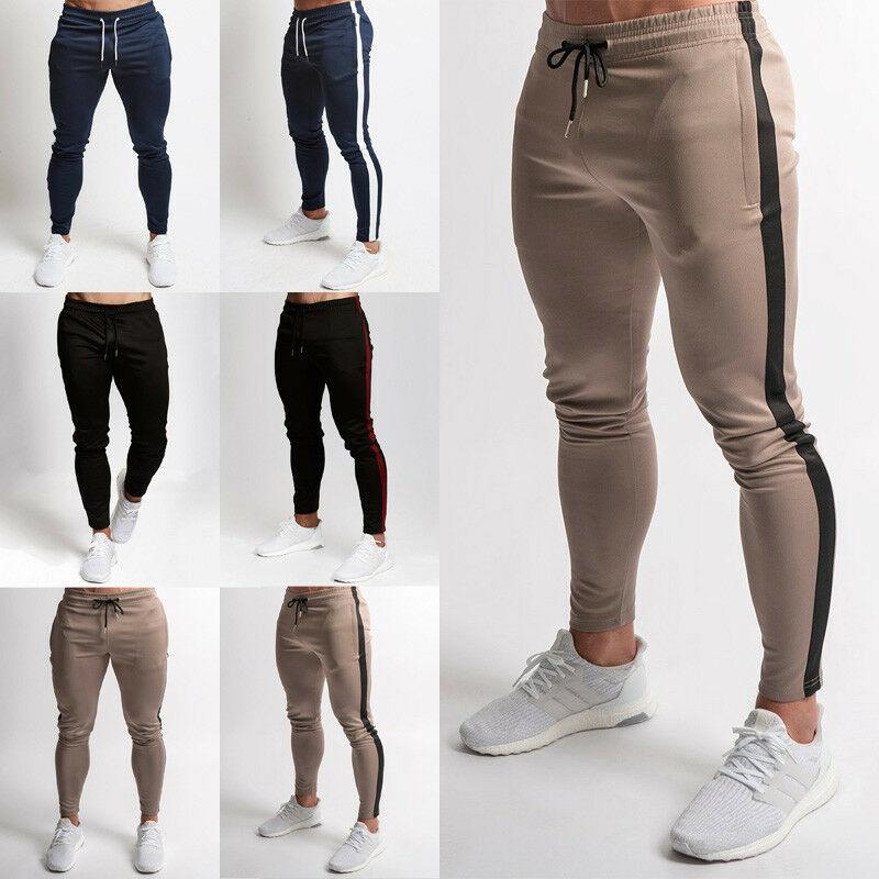 Men Pants Slim Fit Sports Running Sweatpants Mens Pants Sweat Sport Jogging Pants Vq Fitness Pants For Man Joggers Skinny
