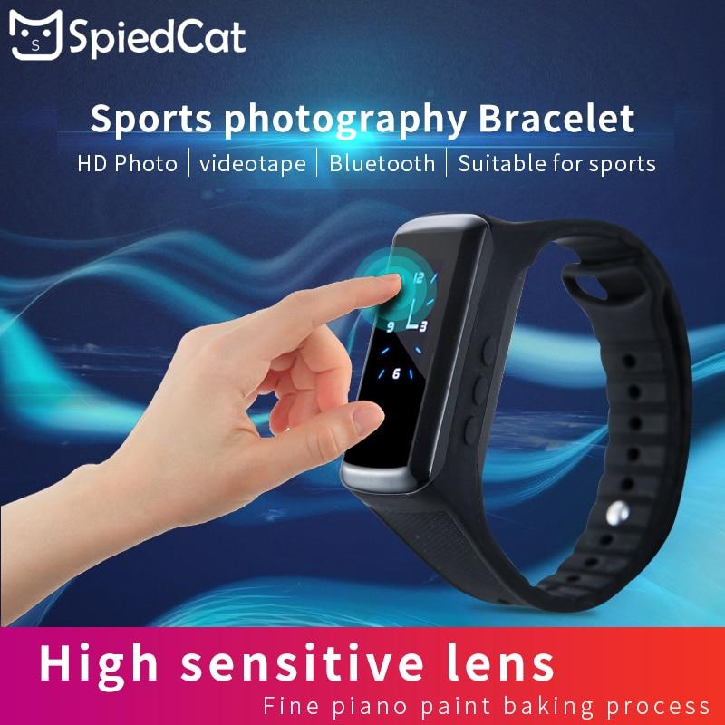 HD Smart Armband Gerät Uhr Rekord Kamera Mini Outdoor Sport Tragbare Geheimnis Video Cam Armband Fitness Track Unterstützung TFCard